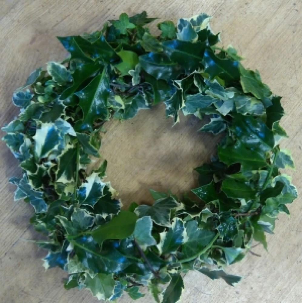 Handmade natural wreath