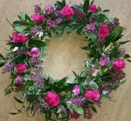 Biodegradable wreath