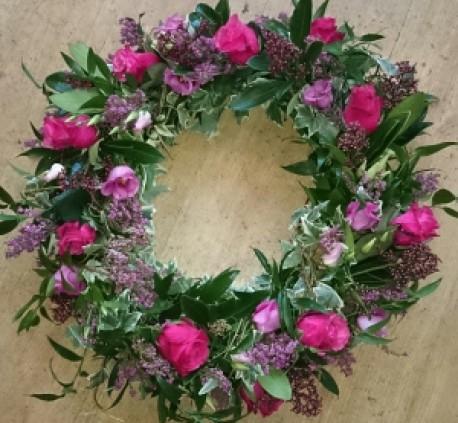 Biodegradable wreath