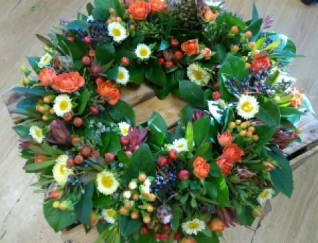 Mixed Autumn wreath