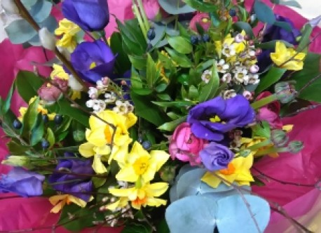 Scented Spring posy