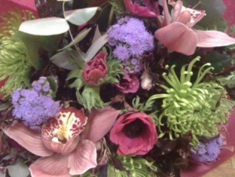 Romantic Hand Tied Bouquet